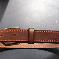 Ceinture havane orange